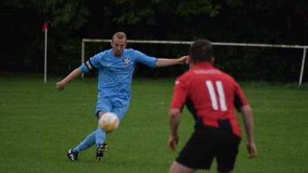 Action from the Honiton Town 2-1 win over Budleigh Salterton. Picture: JASON SEDGEMORE