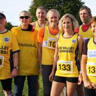 Axe Valley Runners members at the Minster Challenge Picture; CHRIS CARSON