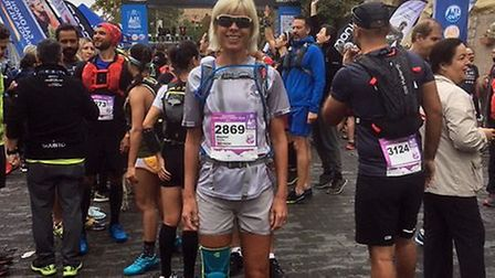 AVR member Ragnhild Richards at the Cappadocia Ultra in Turkey which is part of the Ultra Trail Worl