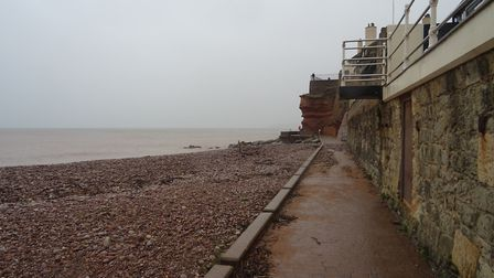 This is a picture of Sidmouth seafront taken on Monday 15th October 2018. Picture: Luke Eveleigh