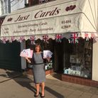Maggie Wym, of Just Cards in Honiton. Photo: Honiton Chamber of Commerce
