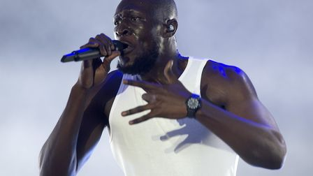 Stormzy performs during the TRNSMT festival at Glasgow Green, Scotland.