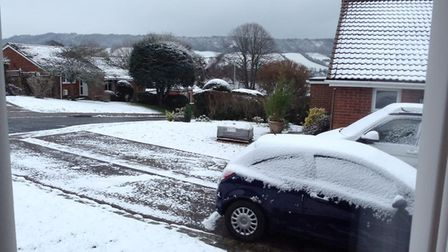 Sidmouth this morning. Picture: Teresa Johnstone