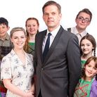 Some of the cast of Honiton Communtiy Theatre Company's production of The Sound of Music. Picture: L