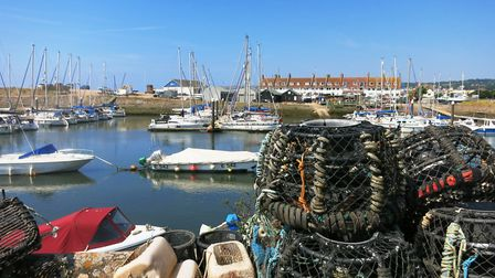 Axmouth harbour at the mouth of the Axe Estuary. Picture Chris Carson