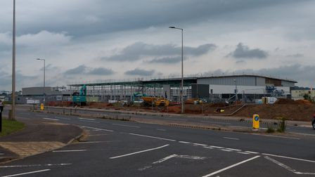 Cranbrook's latest Industrial Units under constructuion. Ref mhc 25 19TI 1030158. Picture: Terry Ife