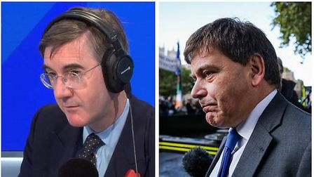 tory MPS Jacob Rees-Mogg and Andrew Bridgen have caused outrage with comments about Grenfell this we