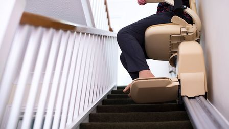 Stairlift. Picture: Getty Images