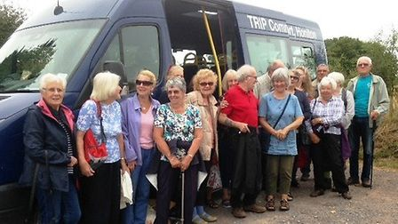 Honiton Carers Support Group members at Seaton Wetlands. Picture HCSG