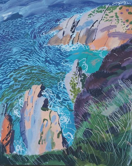 Seascape by Mark Rochester. Picture: Supplied by artist