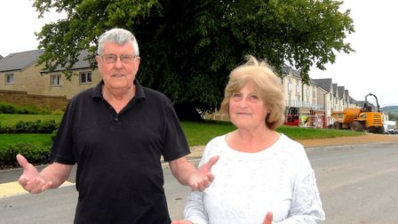 Brian and Barbara White say claiming a pavement outside their home would damage tree roots is nonsen