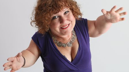 Canadian comedian TanyaLee Davis. Picture: Supplied by artist