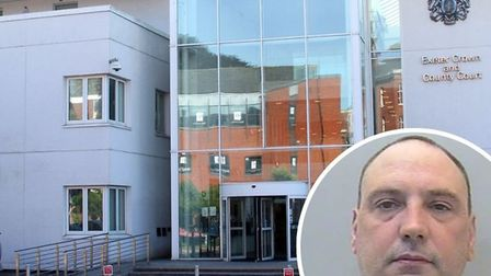 Shaun Harper admitted breaching a criminal behaviour order Exeter Crown Court on August 1. Picture: