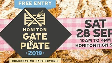 Honiton's Gate to Plate will now go ahead on September 28. Picture: EDDC