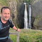 Paul Boddington is tackling a 1,014km coastline hike from Minehead to Poole in 30 days to raise mone