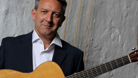 Acclaimed guitarist Clive Carroll. Picture: Courtesy of the artist