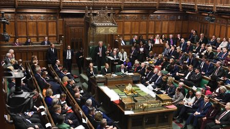 MPs in the House of Commons. Photograph: UK Parliament/Jessica Taylor.