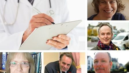 Candidates for the Honiton and Tiverton constituency share views on health. Picture: Canva