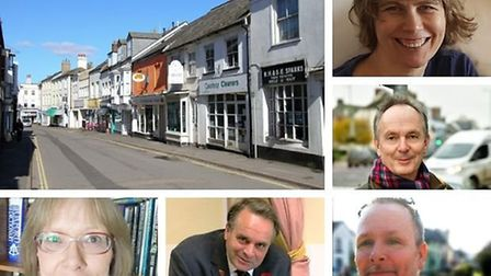 Election candidates in the Tiverton and Honiton constituency. Picture: Alex Walton/Canva