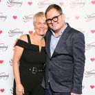 Comedian Alan Carr meets Slimming World consultant Sharon. Picture: Slimming World