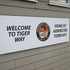 Axminster Town's Tiger Way home. Picture: Sam Cooper