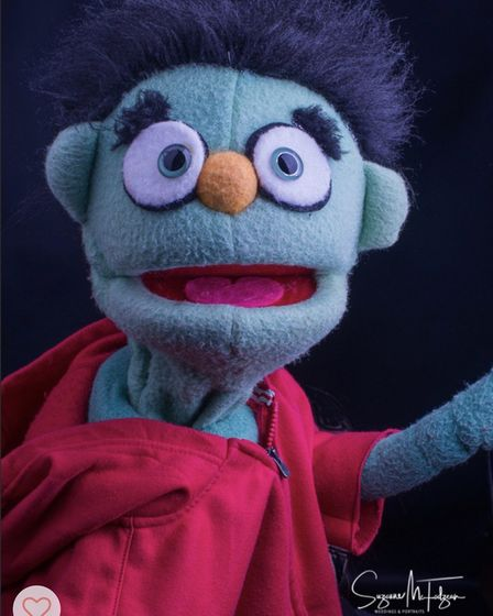 A puppet in Avenue Q by Axminster Musical Theatre. Picture: Suzanne McFadzean Photography