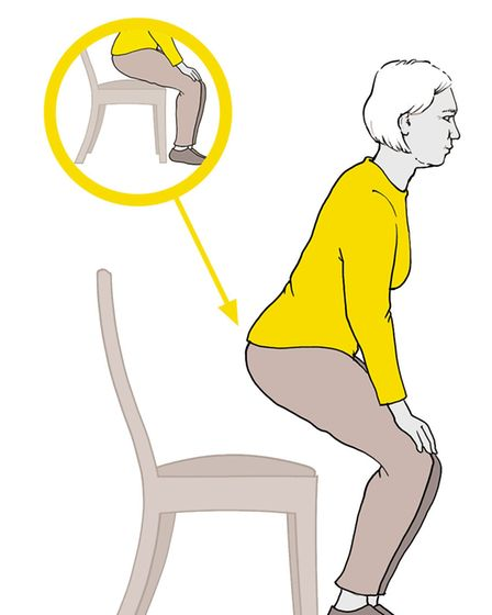 Sit to stand. Picture: CSP