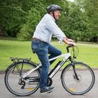 More and more people are taking to cycling as a way to get some fresh air during the lockdown. Image