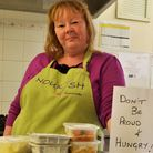Karen Taylor of Nourish, Axminster, which has received a £1,000 grant from EDDC.