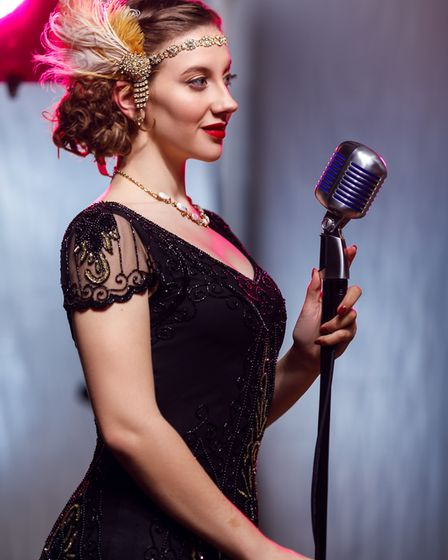 Musical theatre performer Mawgan Stott who will be performing an online conert for Hospiscare. Pictu