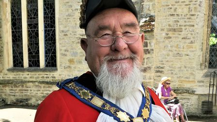 Former Axminster Mayor Douglass Hull who has died. Picture: Chris Carson