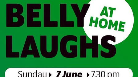 Belly Laughs will be hosting an online gig to raise money for Devon charities. Picture: Belly Laughs