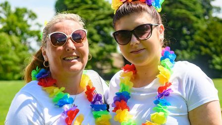 People are being urged to take part in a virtual rainbow run. Picture: Children's Hopsice South West