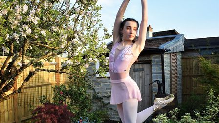 Axminster's Katy Roy who has won a place at Britain's top performing arts school.