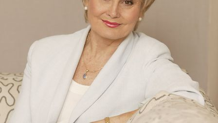 Angela Rippon will be among the judges for the Lockdown Legends exhibition. Picture: Giles Park
