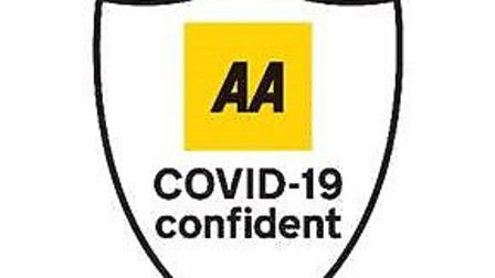 The AA Covid-19 accredition logo