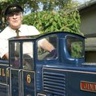 Former Axminster Mayor and rail enthusiast John Jeffery lent his engineering skills to help restore
