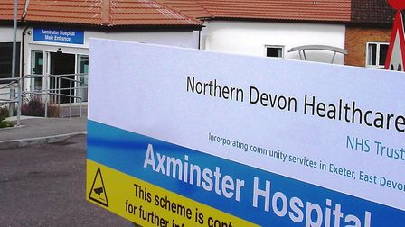 Axminster Hospital. Picture Chris Carson