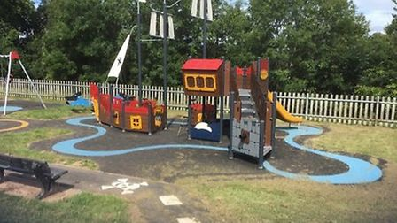 Redgates play area in Exmouth. Picture EDDC