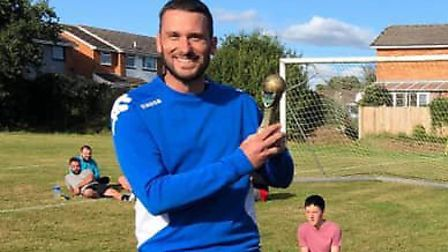 Darren Witt who was names Manger's Player of the Year Picture: Feniton Football Club