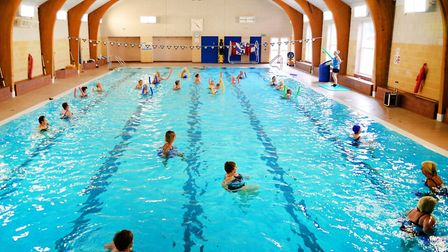 Axminster's Flamingo Pool is hoping to reopen on July 25. Picture FP