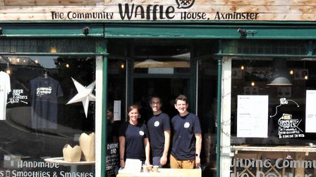 Axminster Community Waffle House team is on the move. Picture: Chris Carson