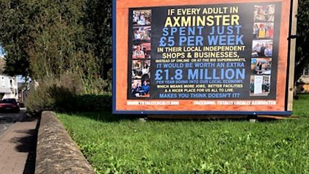 The first Fiver Fest involved more than 40 Axminster businesses. Picture Barrie Hedges