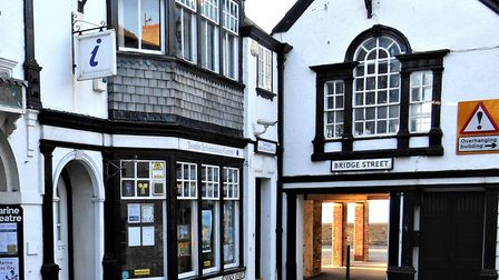 Lyme Regis Guildhall. Picture DC