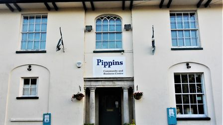 Axminster's Pippins Community Centre. Picture Chris Carson