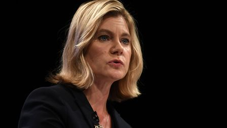 Former cabinet minister Justine Greening says she finds it hard to trust Boris Johnson. Picture: Car