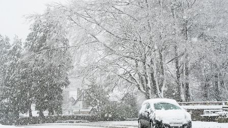 Heavy snow. Photo: Owne Humphreys/PA Archive/PA Images