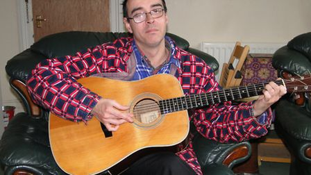Connor Mackay from Ilfracombe is determined to start over after thieves stole most of his property.