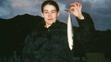 Missing Catherine Nee, pictured during her time in Ilfracombe.