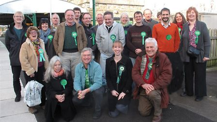 Devon Green Party members and prospective candidates met in Barnstaple on Saturday to launch the par
